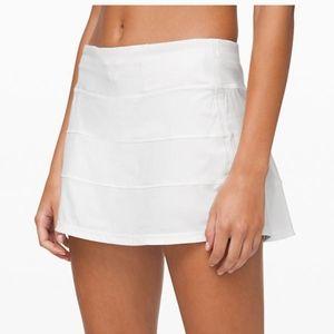 Lululemon Pace Rival Skirt in White